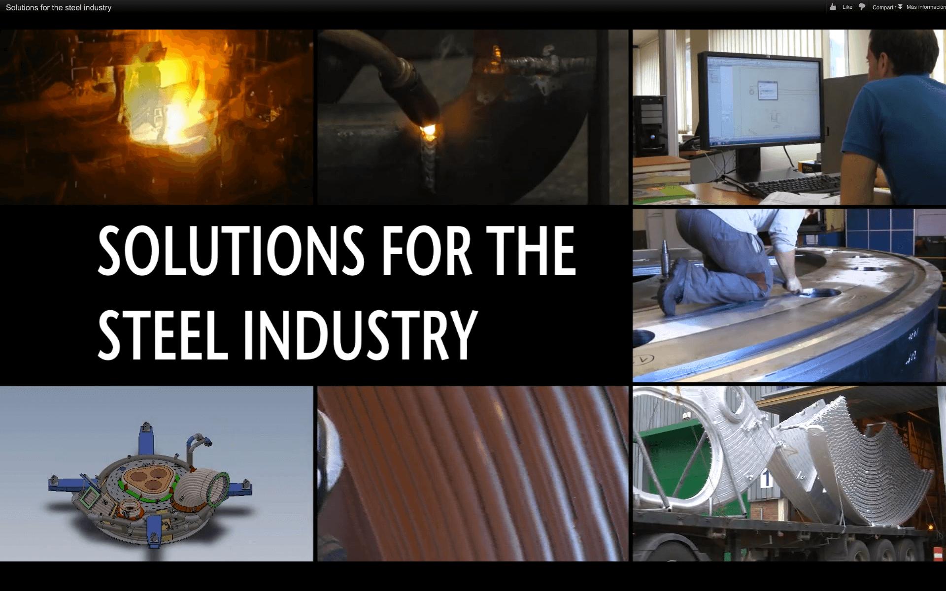 Soluciones para la siderurgia