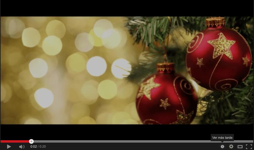Felicitación navideña 2014 de Amurrio Ferrocarril